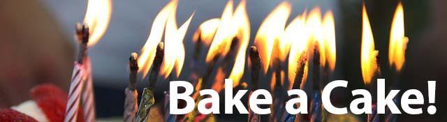 bake a cake banner