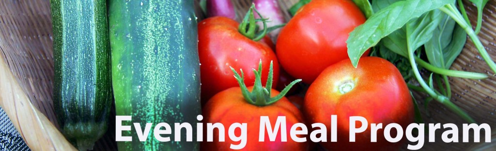 evening meal banner