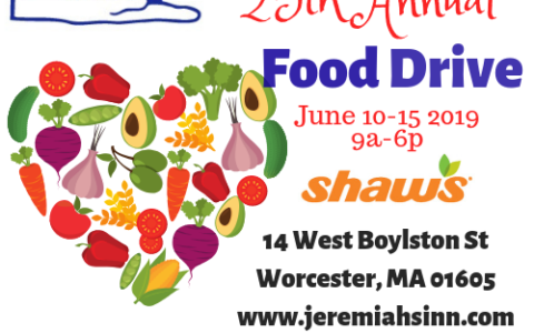 Annual Food Drive Turns 25!!